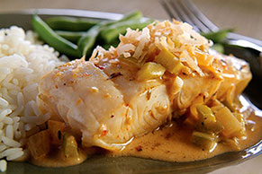 Cartagena Coconut Fish Fillets