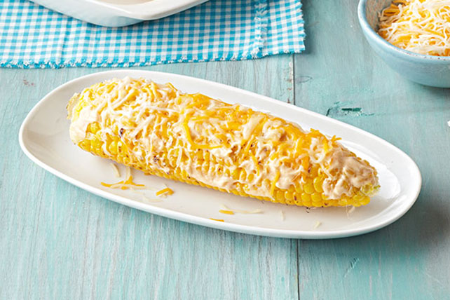 Cheesy Chipotle Corn on the Cob