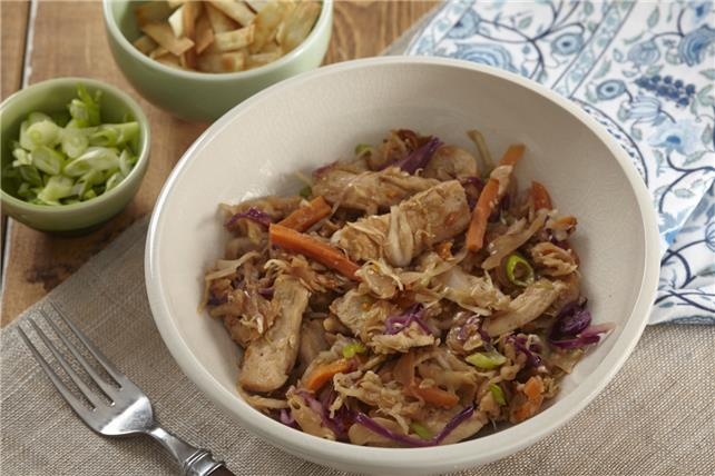Chicken Egg Roll in a Bowl Image 1