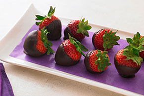 Chocolate-Dipped Strawberries