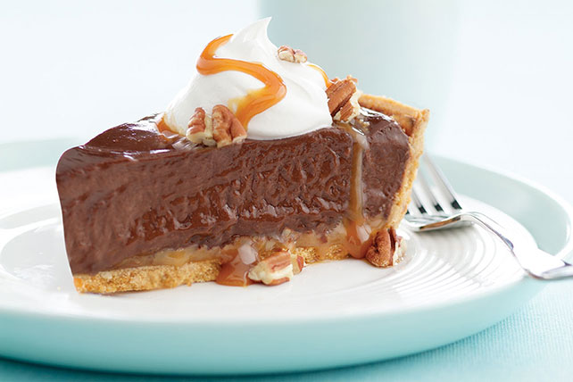 Chocolate Turtle Pie Image 1