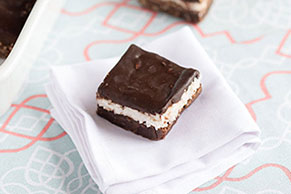 Coconut-Candy Bar Brownies