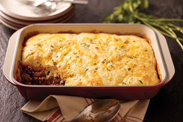 Cornbread-Topped Beef Casserole Image 1