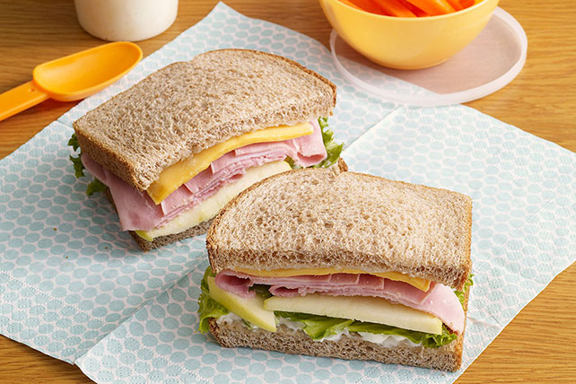 Country Ham & Apple Sandwiches Image 1