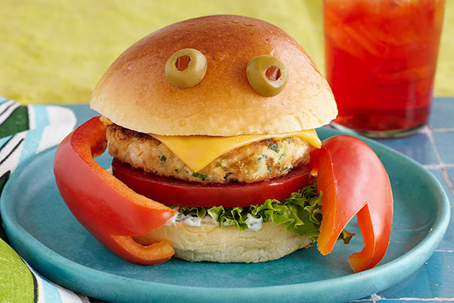Crab Burgers Recipe - Kraft Canada