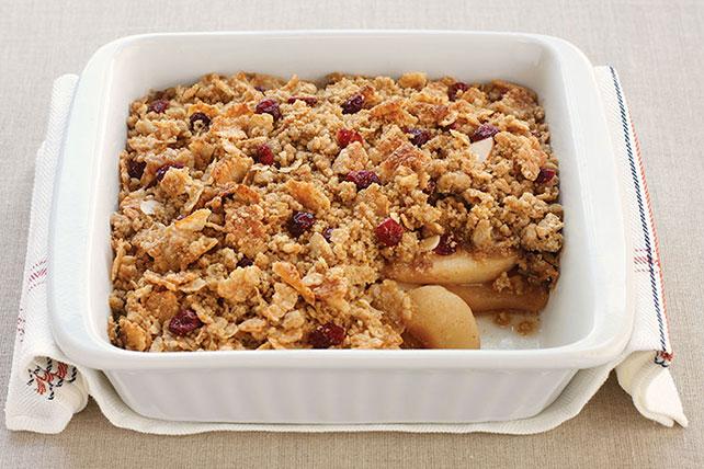 Cranberry-Pear Crisp - Kraft Recipes