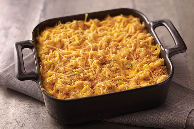 Creamy Baked Macaroni & Cheese Image 1