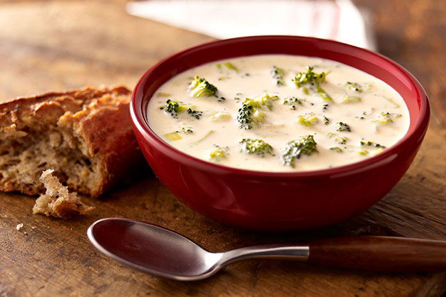 Creamy Broccoli Cheese Soup Image 1