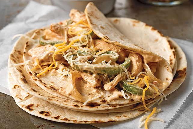 Creamy Chicken Fajitas - Kraft Recipes