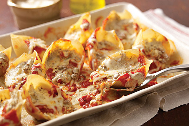 Creamy Pesto-Stuffed Shells Image 1