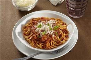 Creamy Pumpkin Spaghetti