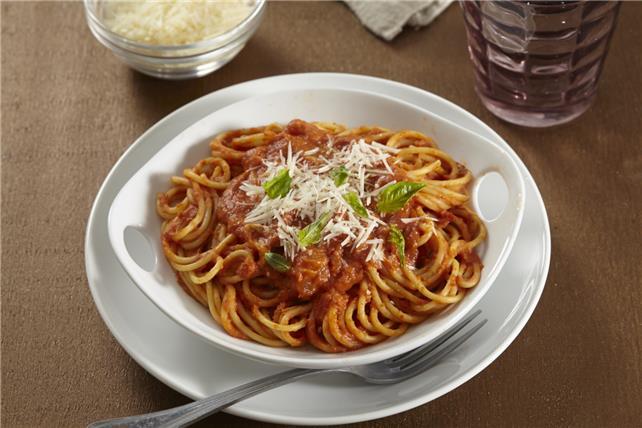 Creamy Pumpkin Spaghetti Image 1