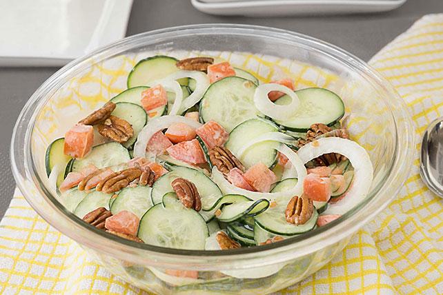 Creamy Cucumber Salad Image 1