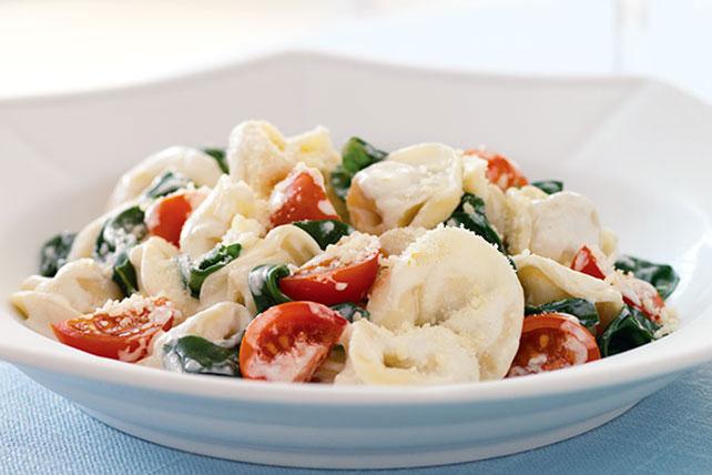 Creamy Restaurant-Style Tortellini Image 1