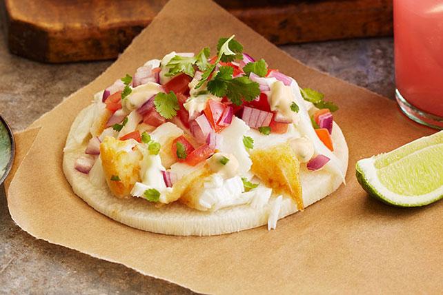 Crunchy Jicama-Fish Tostadas Image 1