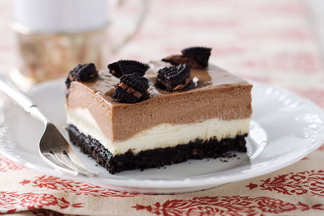 Double-Decker OREO Cheesecake Image 1