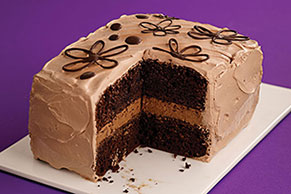 Double-Mocha Layer Cake