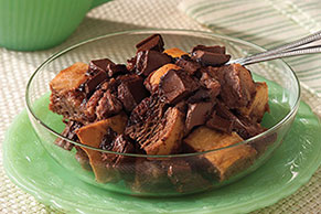 Double-Chocolate Bread Pudding