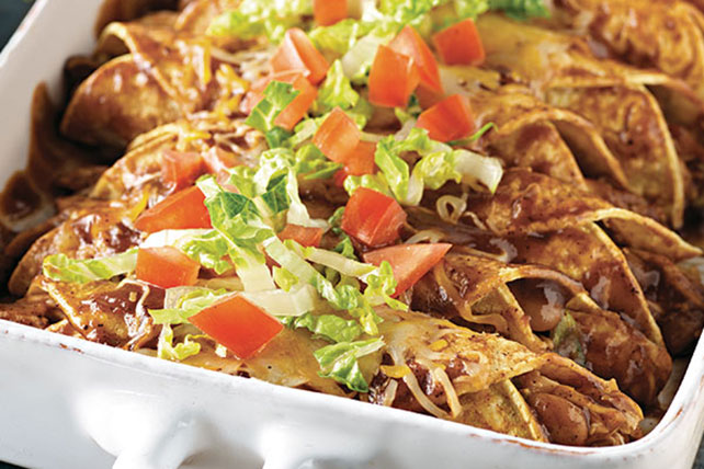 Easy BBQ Chicken Enchiladas Image 1