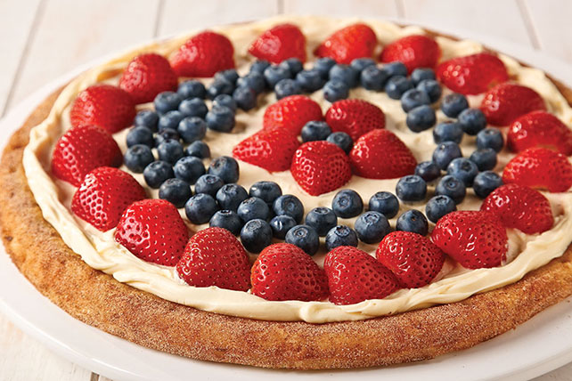 Simple Fruit Pizza