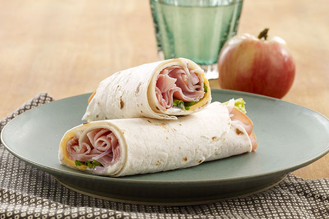 Easy Ham & Cheese Wrap Image 1