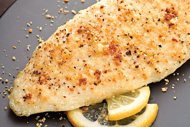 Easy Parmesan Crusted Tilapia Recipe Image