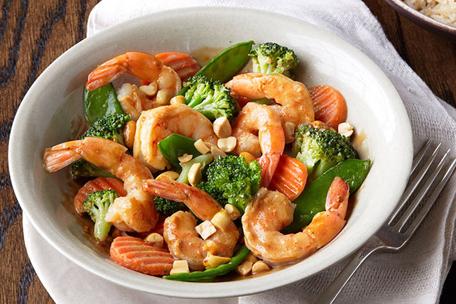 Easy Shrimp Stir-Fry Image 1