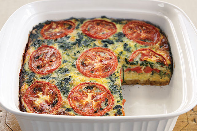 Easy Layered Vegetable Bake Image 1