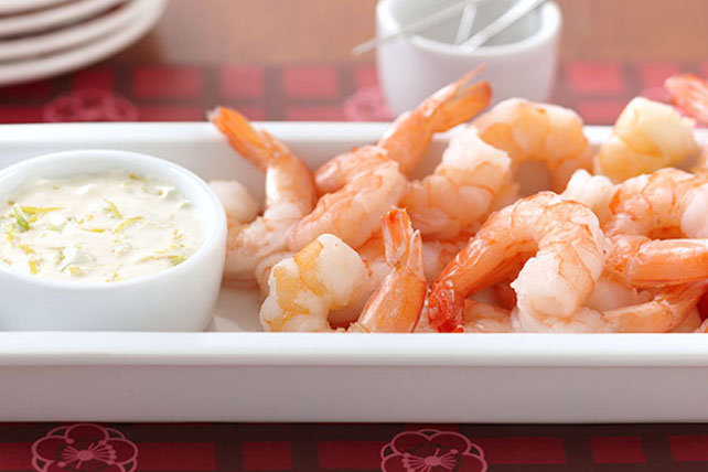 Entertaining Shrimp Cocktail Platter Image 1