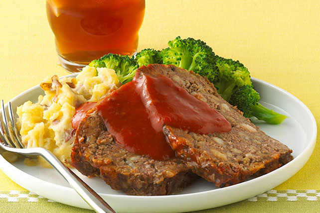 Healthy Living Meatloaf Menu