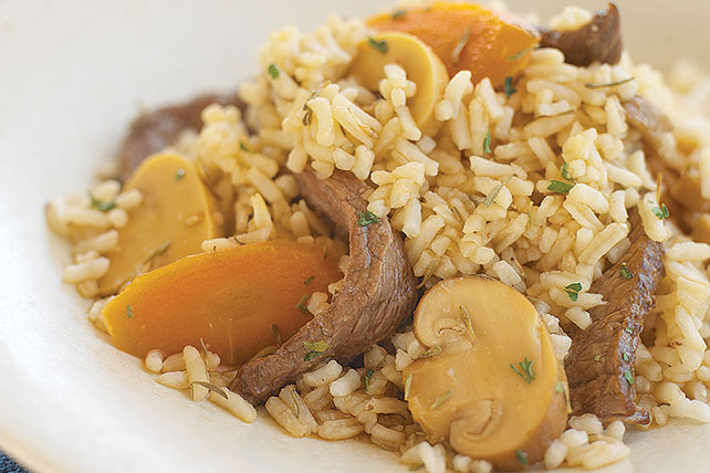 Fast & Flavorful Rice Skillet Dinners Image 1
