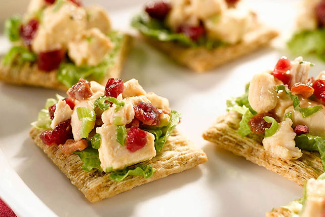 Festive Cranberry-Chicken Topper