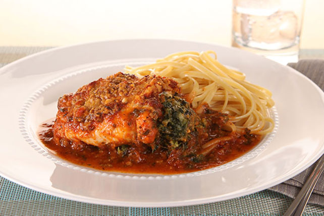 Stuffed Chicken Florentine Image 1