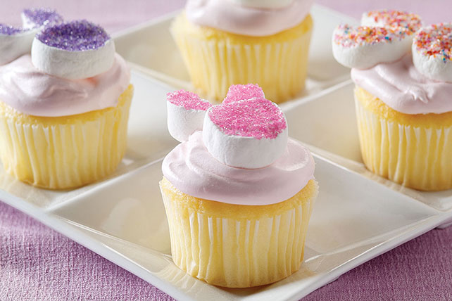 Fluffy Bunny Cupcakes Image 1
