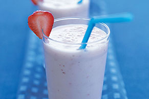 Strawberry-Banana Milkshake