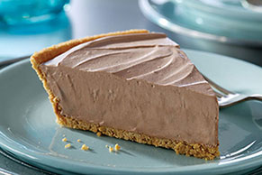 Frozen German Sweet Chocolate Pie