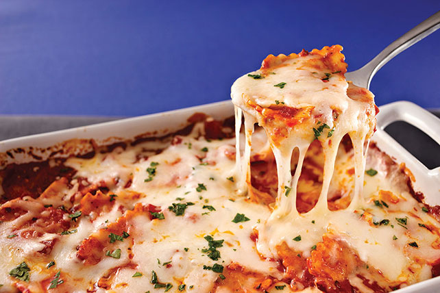 Fuss-Free Ravioli and Cheese Bake Image 1