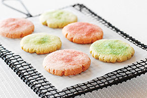 Pastel JELL-O Cookies