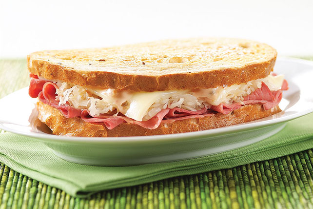 Simple Reuben Sandwich Recipe Image 1