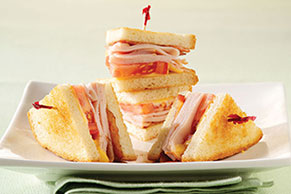 Grilled Turkey Club