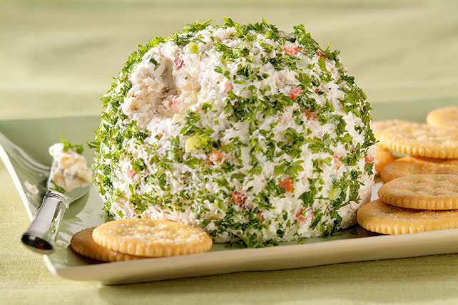 Holiday Feta Cheese Ball Image 1