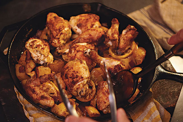 Lemon Roasted Tuscan Chicken Recipe