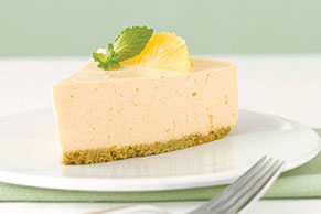 Carb-Counter Orange Dream Cheesecake