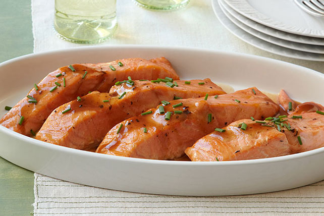 Balsamic Glazed Salmon Fillets - Kraft Recipes