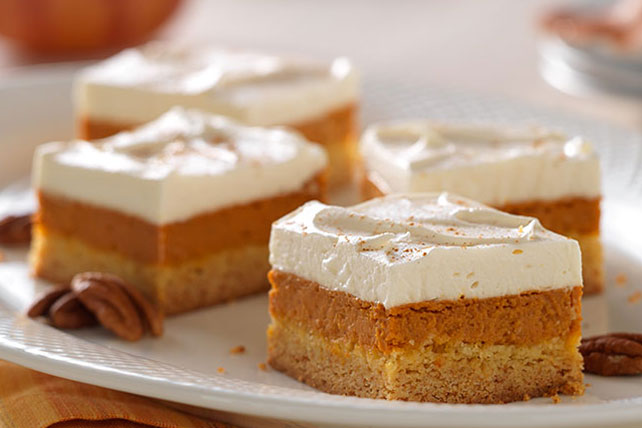 Maple-Pumpkin Pie Bars Image 1