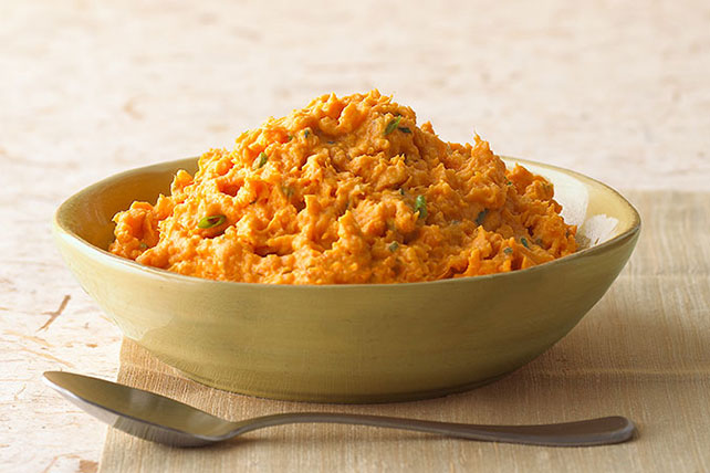 Mashed Sweet Potatoes Image 1