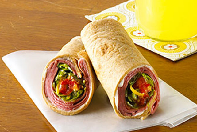 Mexican Beef Wrap Image 1