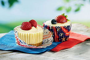 JELL-O® No-Bake Mini Cheesecakes