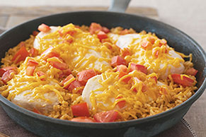 Miracle Whip Chicken Skillet