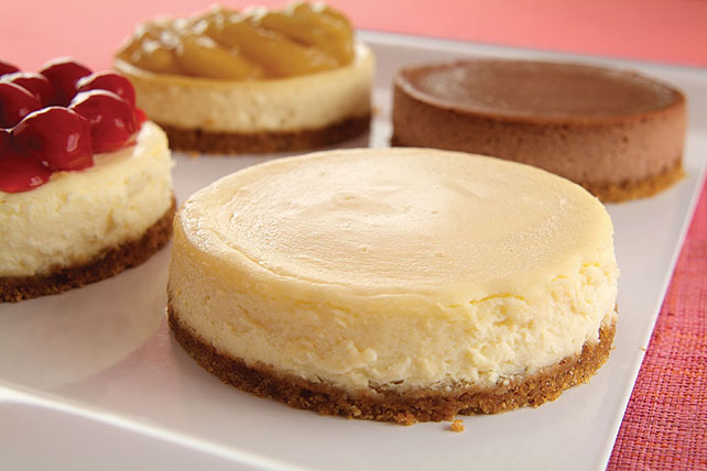 Mix 'n Match Mini Individual Cheesecakes